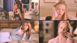 "I survived my first 3 way phone call attack LOU: ""Don't you think it was totally bitch of Gretchen to tell me?"" EE: ""I guess it was kind of bitchy, but maybe she just likes the attention..."" MEDIA BACKLASH: ""I can't believe you think I LIKE ATTENTION!!!1"" LOU: ""Love ya! Bye!"""
