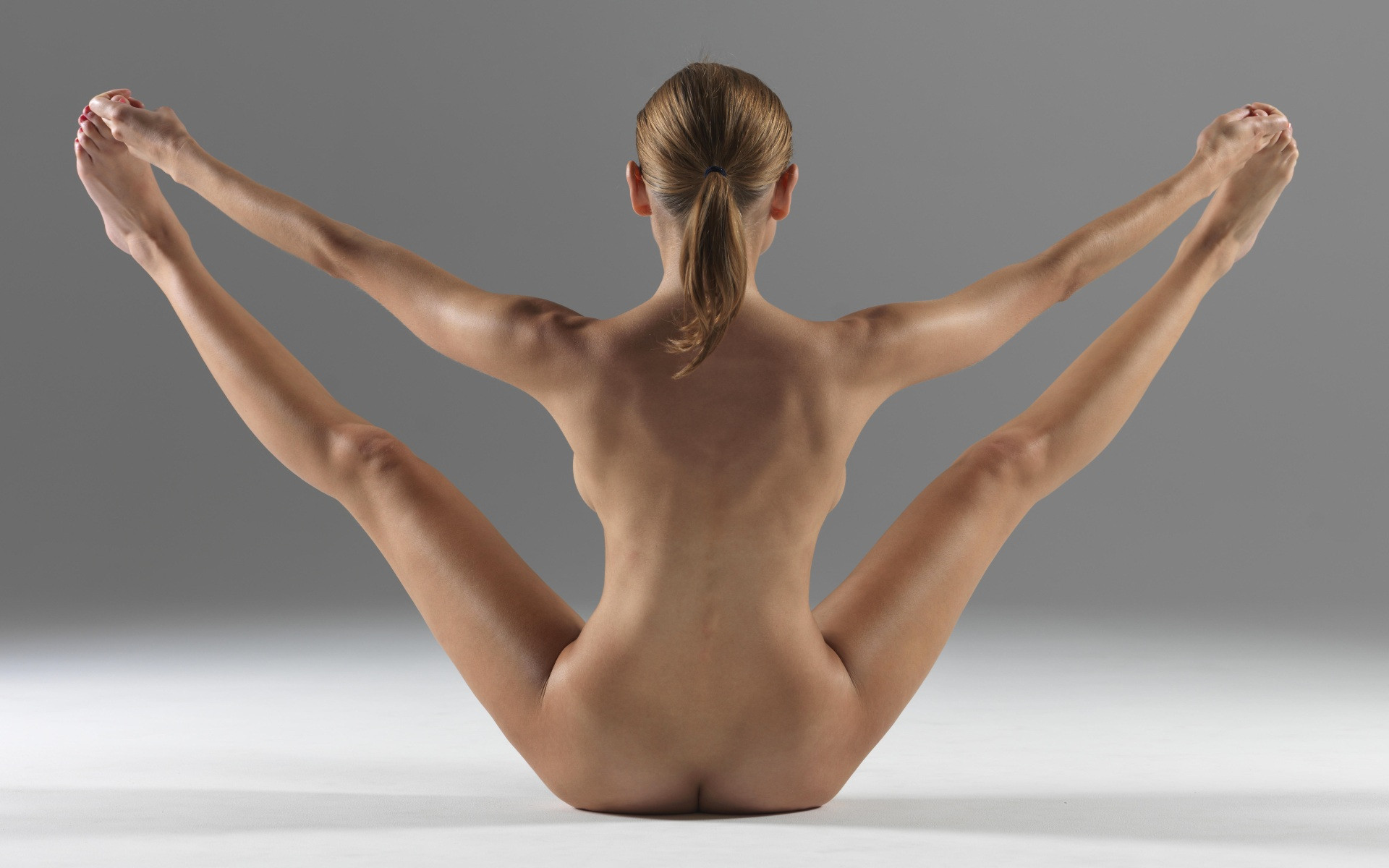Yoga poses nude sex with you